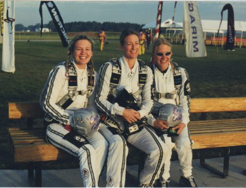 Throw Back Thursday: 20 years in skydiving